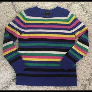 Cashmere Striped Sweater - Halogen (Nordstrom)